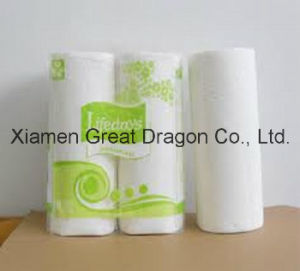24 Giant Rolls Pick-a-Size White Paper Towels with Flower (GD-KP300) pictures & photos
