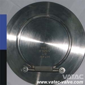 Spring Loaded Swing Disc Wafer Ending Check Valve pictures & photos