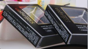 Plastic PP Cosmetics Eyeshadow Packaging Box