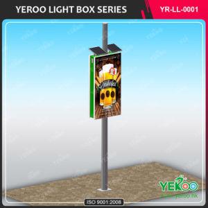 High Quality Aluminum Street Light Poles Advertising Lamp Post Light Box pictures & photos