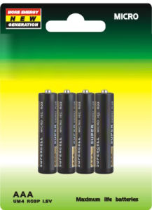 R03 AAA Carbon Battery Um-4 pictures & photos