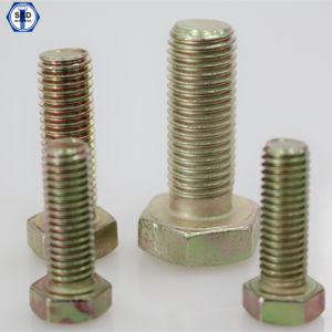 Bolt ASTM A325 Type1 Zinc Yellow pictures & photos