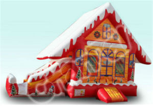 Inflatable Christmas Decoration Bouncer pictures & photos