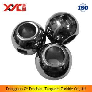 Precision Tungsten Carbide Groove Ball Valve Body Parts pictures & photos
