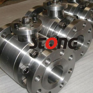Flange End Forged Steel Floating Ball Valve pictures & photos