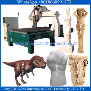5 Axis Wood CNC Router Cutting Carving Engraving Machine Price 3D CNC Router (JCT1530L) pictures & photos