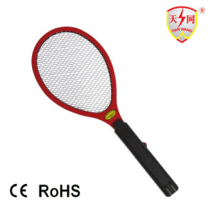 Hot Two Layers Rechargeable Electronic Mosquito Racket with CE/RoHS (TW-05) pictures & photos