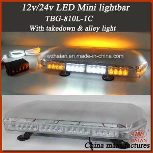 Code 3 Style Mini Strobe Light Bar with Takedowns and Alley Lights pictures & photos