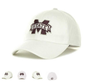 White Good Quality New Baseball Cap with Embroidery Logo pictures & photos