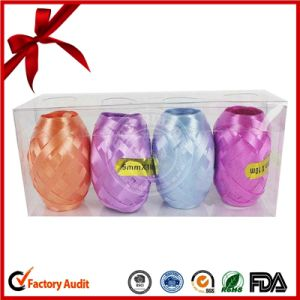 Printed Solid Gloss Ribbon Artificial Crafts Easter Egg Decoration pictures & photos