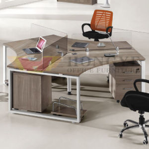 Fsc Certified Corner Home Office Computer Table for Office Furniture pictures & photos