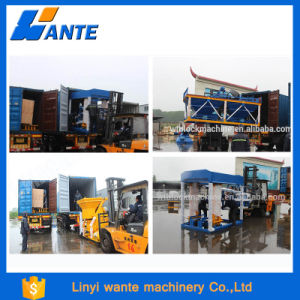 Qt6-15c Concrete Brickwall Making Machine, Automatic Paver Block Machine pictures & photos