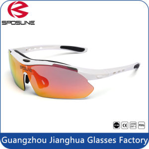 2016 Revo Lenses Fashion Cycling Sunglasses with Your Logo Bulk Buy Driving Sun Glasses Interchangeable Temple Volleyball Golf Eyewear pictures & photos