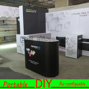 Modular Reusable Portable Aluminum Reception Desk Trade Show Counter pictures & photos