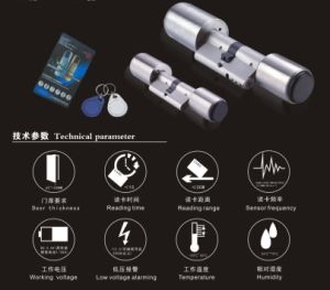 RF Door Lock Cylinder, Household Stand-Alone Management and System Management pictures & photos