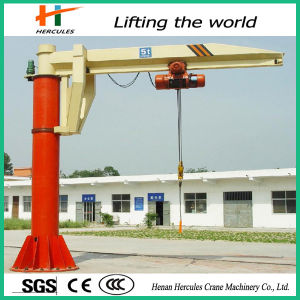 Workshop Used 360 Degree Fixed Column Rotating Jib Crane pictures & photos