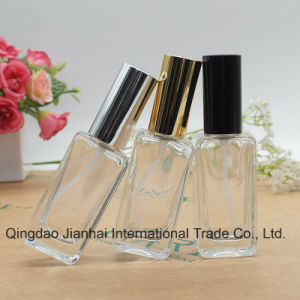 30ml Square Spray Pump Glass Perfume Bottle pictures & photos