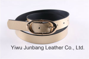 Latest Fashion Women′s PU Reversible Belts--Jbe1615 pictures & photos