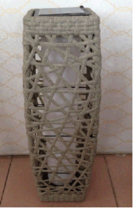 Rattan Solar Light Decorate Lamp pictures & photos