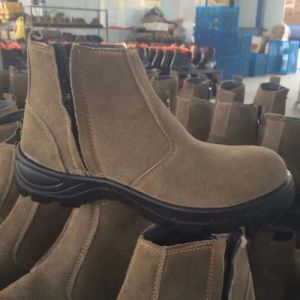 Industrial Full PU/Leather Footwear Safety Labor Shoes pictures & photos