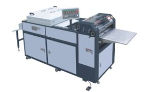 Manual UV Glazing Machine Hssguv-660 pictures & photos