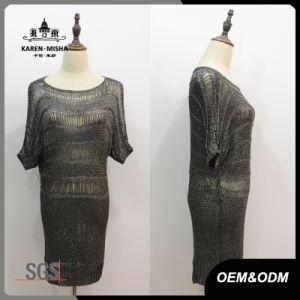 Women Basic Short Sleeve Straight Dress pictures & photos