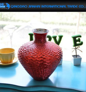 Colored Beauty Glassware Glass Vase for Home Decoration pictures & photos