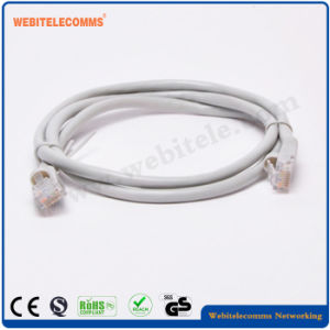 Cat5e UTP PVC Patch Cord with OEM Blister Packaging pictures & photos