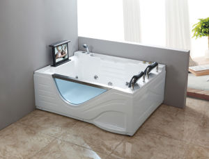 Freestanding Sanitary Ware Acrylic Bathtub pictures & photos