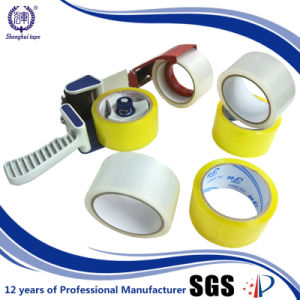 Hot Sale in Korea 63mic Thickness Yellowish Clear OPP Tape pictures & photos