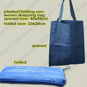 Ly Folded Nonwoven Shopping Bags (LY-NSB-019) pictures & photos