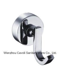 Bathroom Zinc Metal Chrome Robe Hook