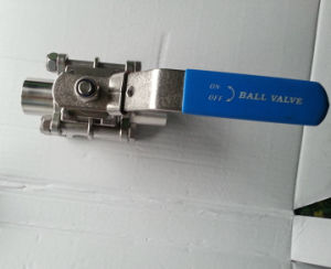 Stainless Steel Full Bore Butt Weld 1000wog 3PC Ball Valve pictures & photos