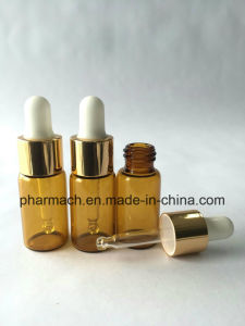 2ml 5/8 DRAM Amber Glass Vials with Glass Dropper pictures & photos