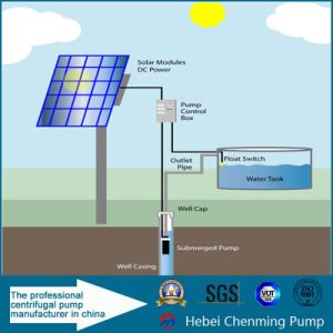 Submersible Stainless Steel Solar Water Pump with PV Solar Panel pictures & photos
