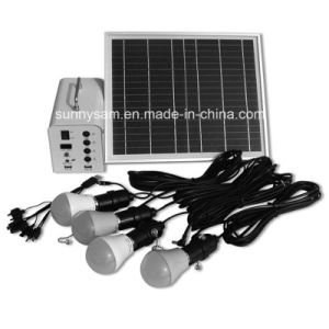 Integrated Energy Saving Mini 10W Portable Solar Power System for Home Use pictures & photos