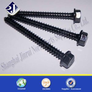 Hex Flange Black Finished Screw pictures & photos