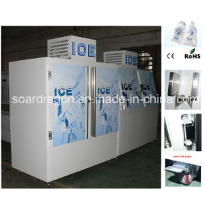 65cu. FT Cube Ice Freezer DC 670 with 2 Solid Doors pictures & photos