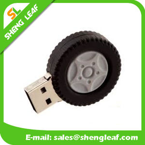 Promotional Gift Wholesale Rubber Bracelet USB Flash Drive (SLF-RU012) pictures & photos