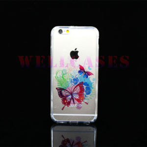 Customized Painting Transparent Mobile Phone Cover/Case