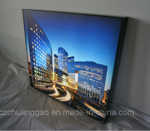 Ks 60 Single Sided Tension Fabric LED Light Box in Black Color Profile pictures & photos