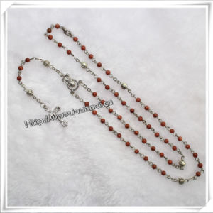 Fashion Handmade Glass Religious Chain Rosary (IO-cr330) pictures & photos