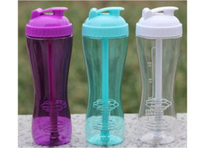 700ml Food Grade Customized Color Tritan Water Bottle, Water Bottle BPA Free With Straw pictures & photos