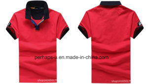 Cool Mens Cotton Pique Golf Polo Shirt pictures & photos