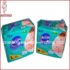 Baby Diaper Supplier, Dry Surface Cotton Backsheet Baby Nappy, Wetness Indicator Diaper pictures & photos