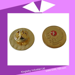 Customized Golden Plated Fashion Cuff-Links (FA-012) pictures & photos