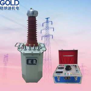 Low Price Oil Immersed High Voltage Test Transformer pictures & photos