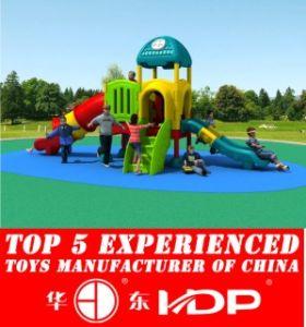 Newest 2016 Whloe Plastic Playground, Outdoor, Indoor Playground, Safe Playground HD16-157b pictures & photos