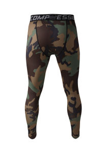 Compression Running Camo Pants Men Leggings Fitness Jogging Trousers (AK2015001) pictures & photos
