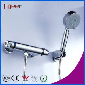 Fyeer Hot Sale Solar Thermostatic Shower Faucet Mixer (QH0202T) pictures & photos